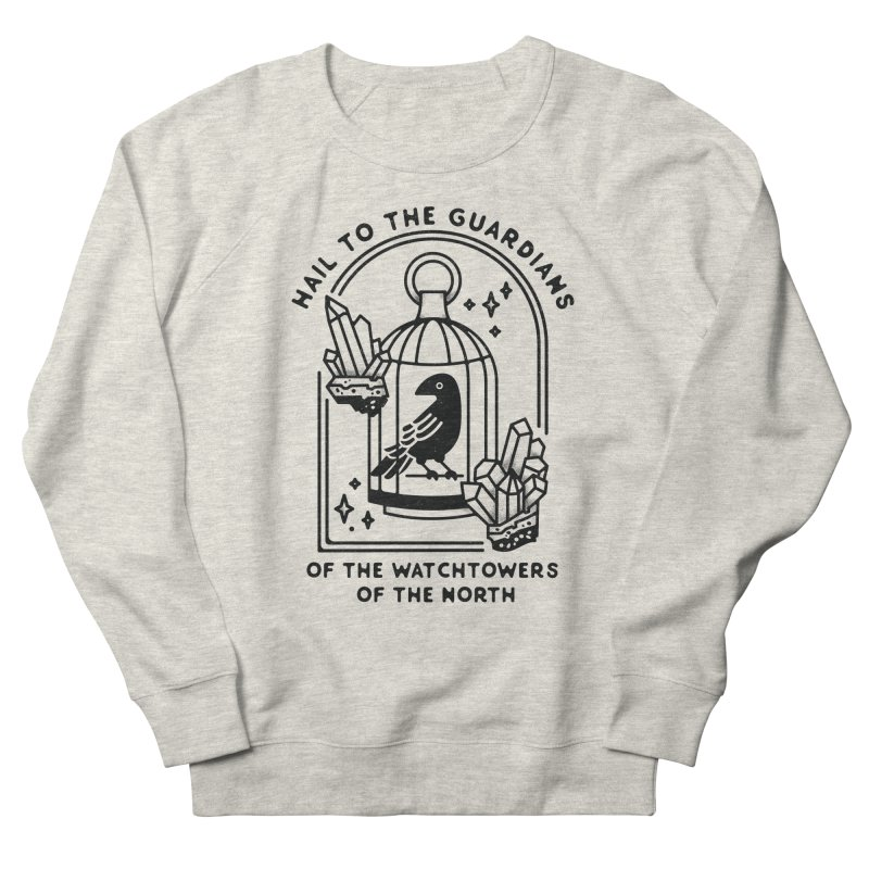 Guardians of the North Men's French Terry Sweatshirt by Kaylee Pinecone's Artist Shop