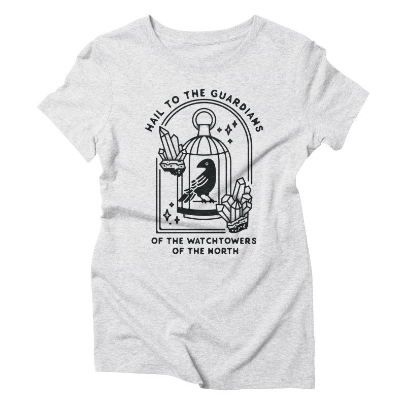 Guardians of the North Women's Triblend T-Shirt by Kaylee Pinecone's Artist Shop