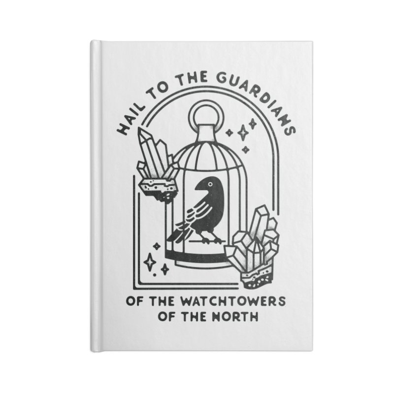 Guardians of the North Accessories Blank Journal Notebook by Kaylee Pinecone's Artist Shop