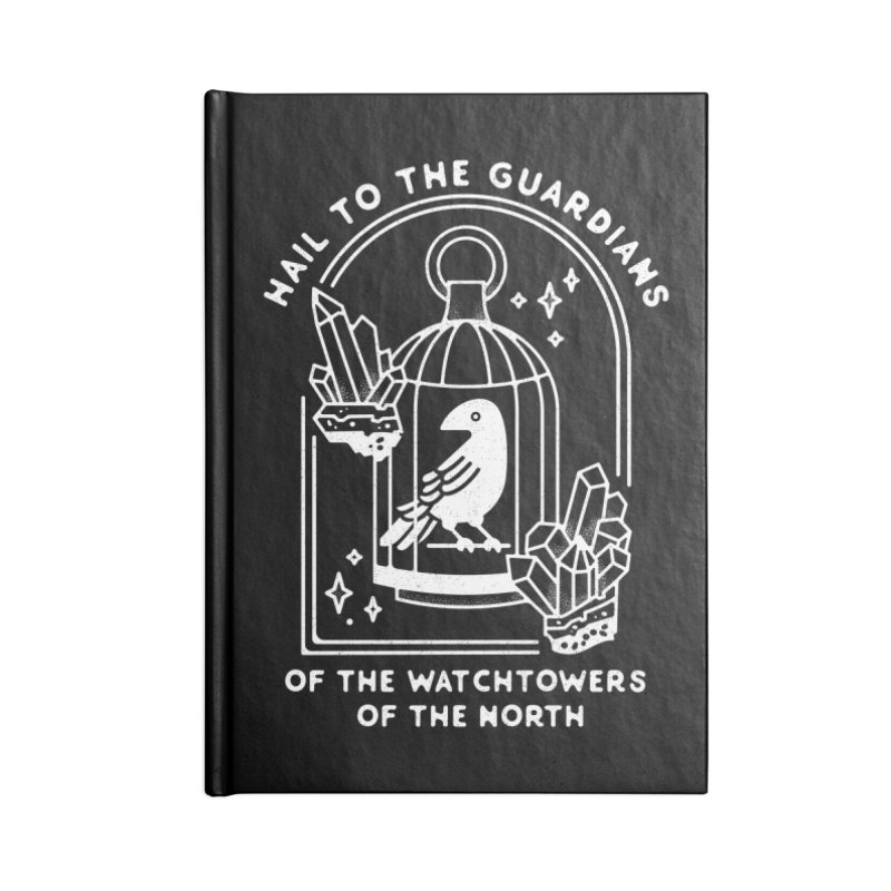 Guardians of the North Accessories Lined Journal Notebook by Kaylee Pinecone's Artist Shop