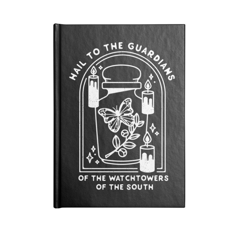 Guardians of the South Accessories Blank Journal Notebook by Kaylee Pinecone's Artist Shop