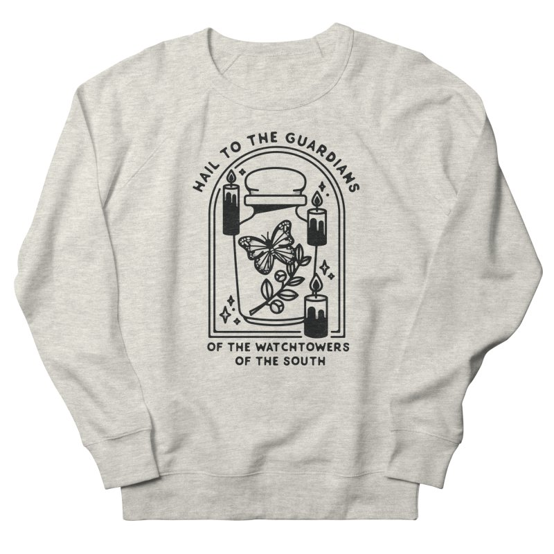 Guardians of the South in Women's French Terry Sweatshirt Heather Oatmeal by Kaylee Pinecone's Artist Shop