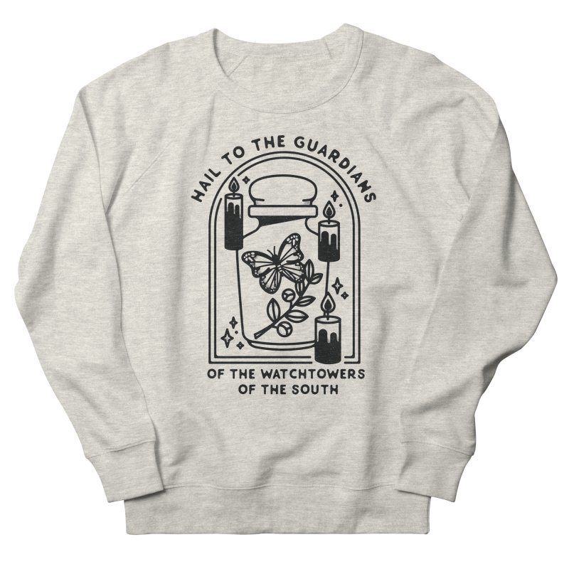 Guardians of the South Men's French Terry Sweatshirt by Kaylee Pinecone's Artist Shop