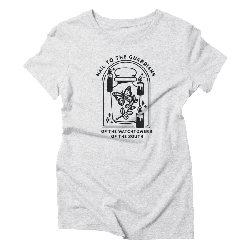 Guardians of the South Women's Triblend T-Shirt by Kaylee Pinecone's Artist Shop
