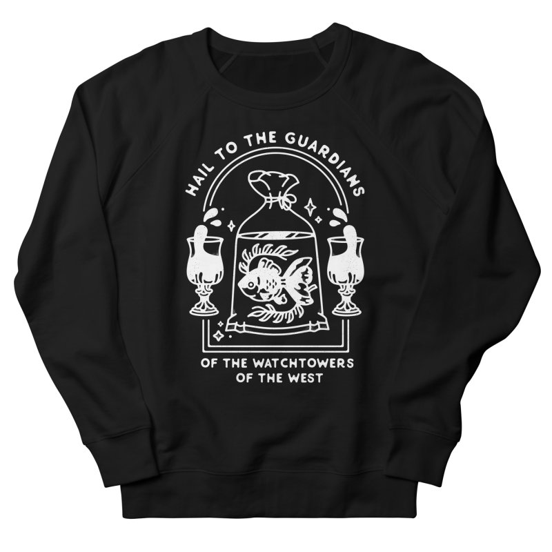 Guardians of the West Men's French Terry Sweatshirt by Kaylee Pinecone's Artist Shop