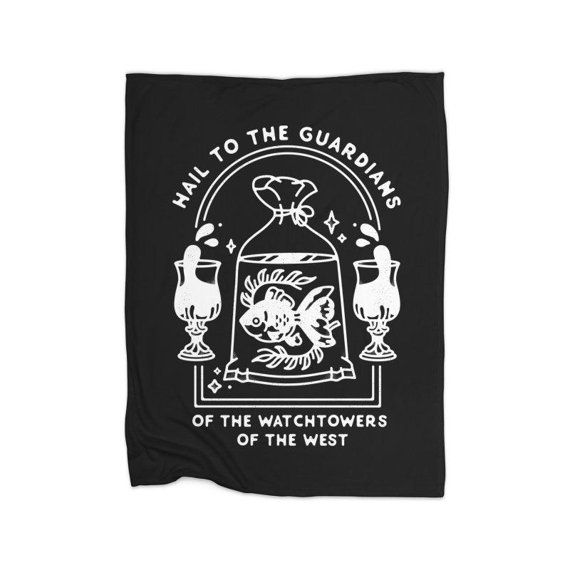 Guardians of the West Home Fleece Blanket Blanket by Kaylee Pinecone's Artist Shop
