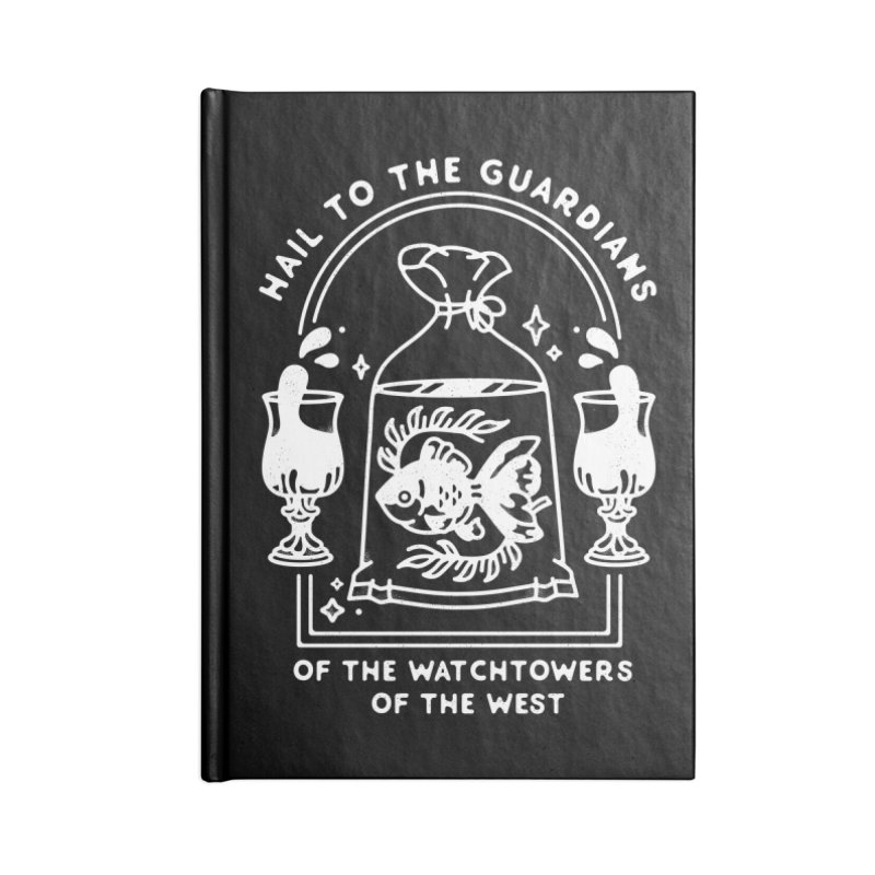 Guardians of the West Accessories Blank Journal Notebook by Kaylee Pinecone's Artist Shop