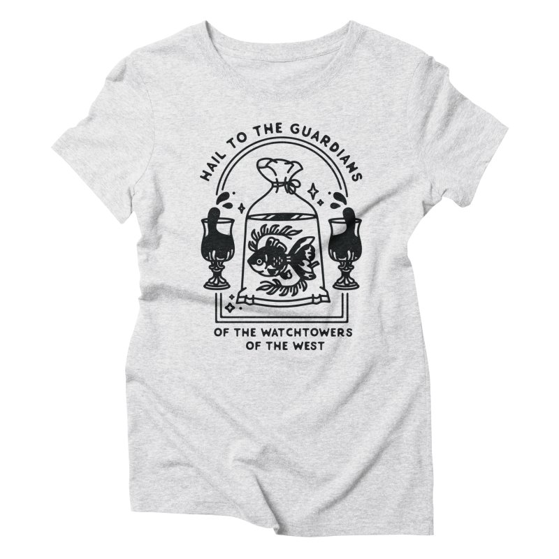 Guardians of the West Women's Triblend T-Shirt by Kaylee Pinecone's Artist Shop