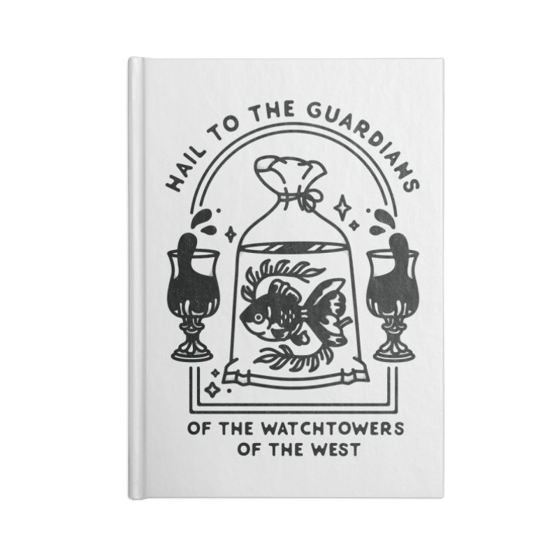 Guardians of the West Accessories Lined Journal Notebook by Kaylee Pinecone's Artist Shop
