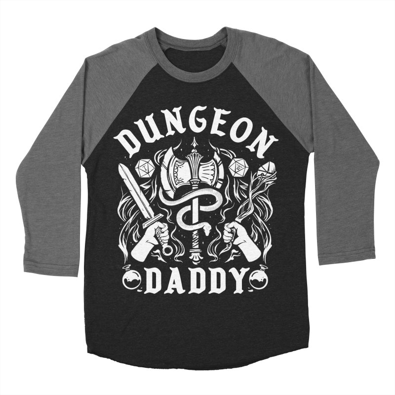 Dungeon Daddy Women's Baseball Triblend Longsleeve T-Shirt by Kaylee Pinecone's Artist Shop