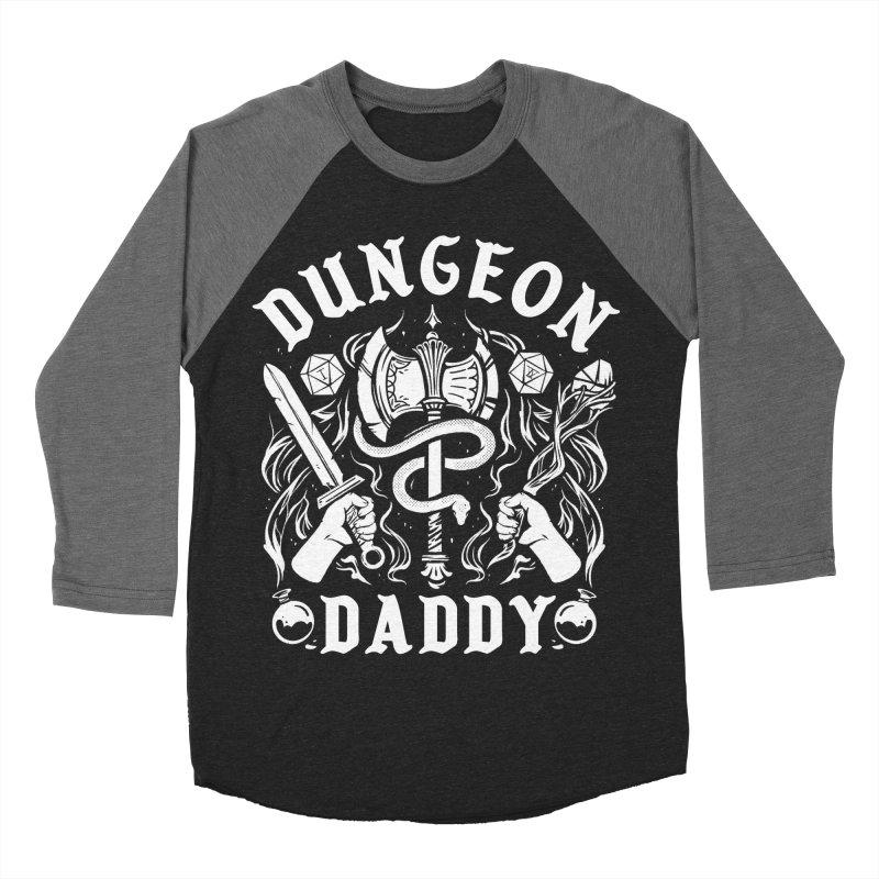 Dungeon Daddy Men's Baseball Triblend Longsleeve T-Shirt by Kaylee Pinecone's Artist Shop