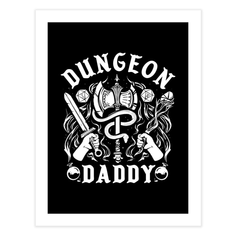 Dungeon Daddy in Fine Art Print by Kaylee Pinecone's Artist Shop