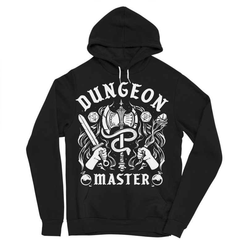 Dungeon Master Women's Sponge Fleece Pullover Hoody by Kaylee Pinecone's Artist Shop
