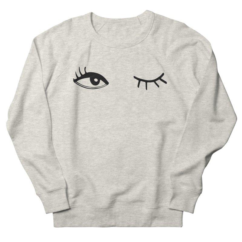 Wink Wink Women's Sweatshirt by Kayt Miller merch