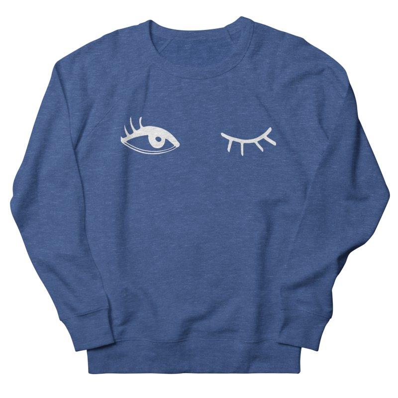 Wink Wink Reverse Women's Sweatshirt by Kayt Miller merch