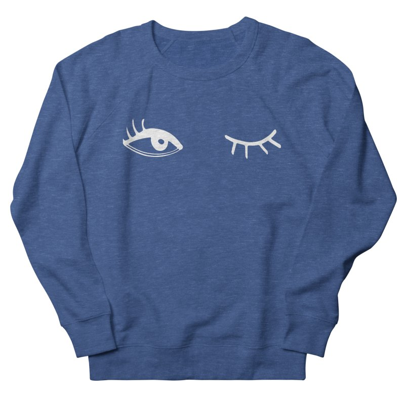 Wink Wink Reverse Men's Sweatshirt by Kayt Miller merch
