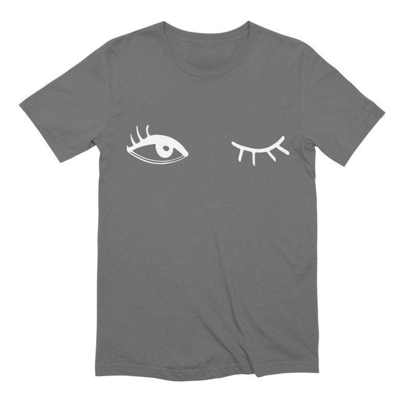 Wink Wink Reverse Men's T-Shirt by Kayt Miller Merch