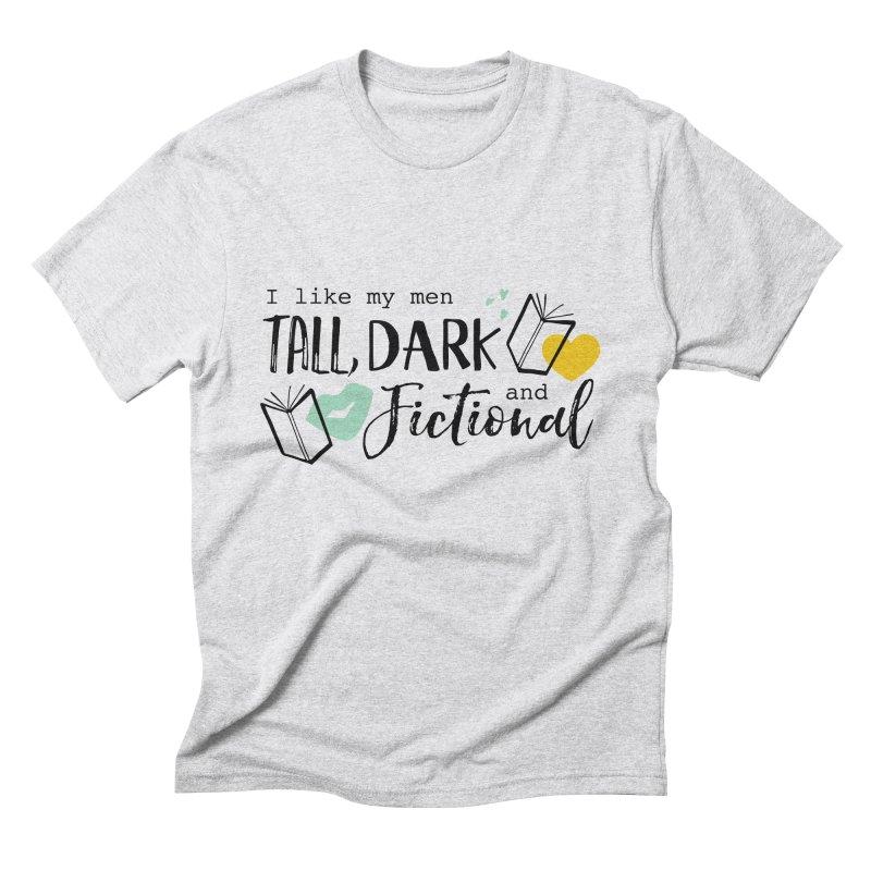 Tall Dark and Fictional Men's T-Shirt by Kayt Miller merch