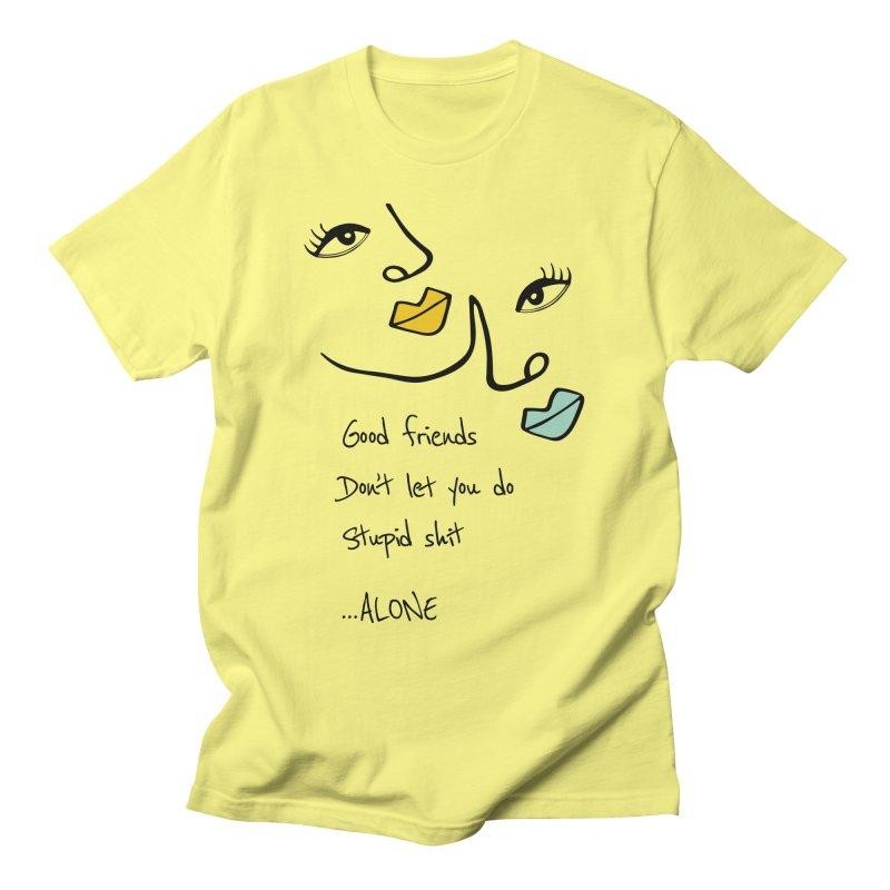 Friends Men's T-Shirt by Kayt Miller Merch