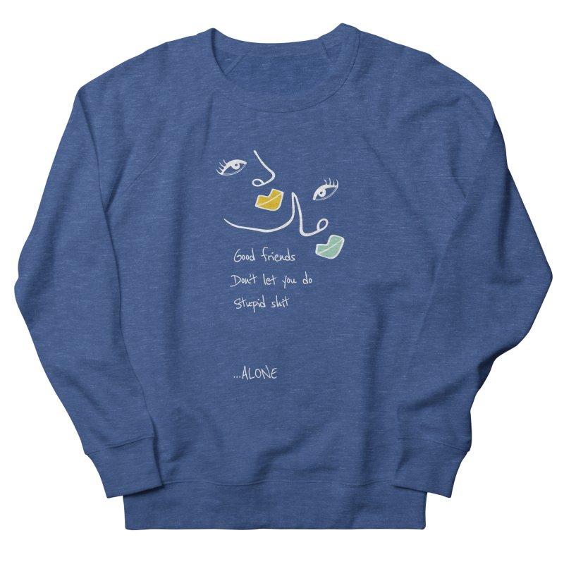 Friends Reverse Men's Sweatshirt by Kayt Miller merch