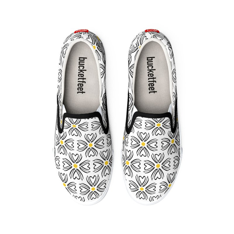 Kayt Miller Exclusive Pattern: Hot Pepper Flowers Men's Shoes by Kayt Miller merch