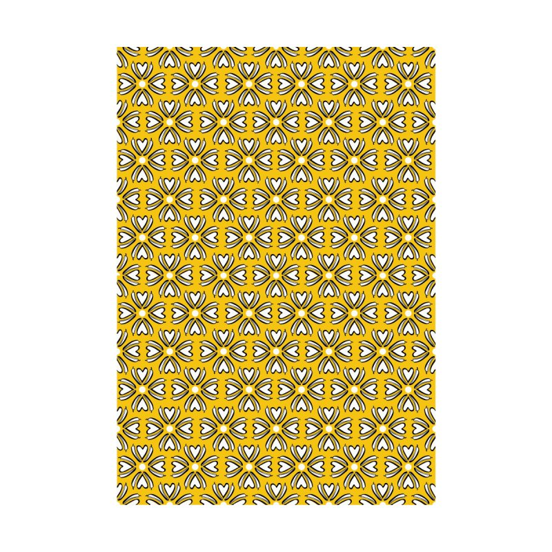 Kayt Miller Exclusive Pattern: Hot Pepper Flowers Yellow Men's Shoes by Kayt Miller merch