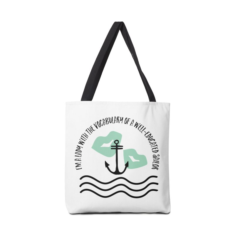 Ahoy There Sailor Accessories Bag by Kayt Miller merch
