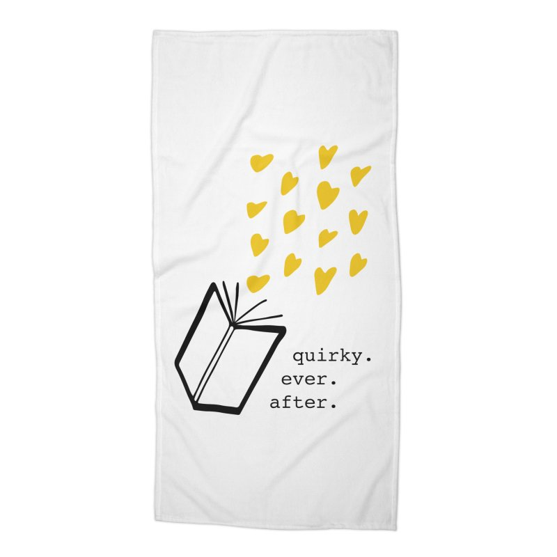 Quirky Ever After Accessories Beach Towel by Kayt Miller merch