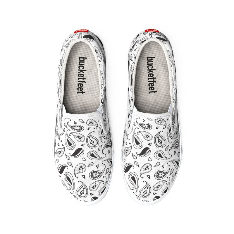 Kayt Miller Exclusive Pattern Paisley Hearts Men's Shoes by Kayt Miller merch