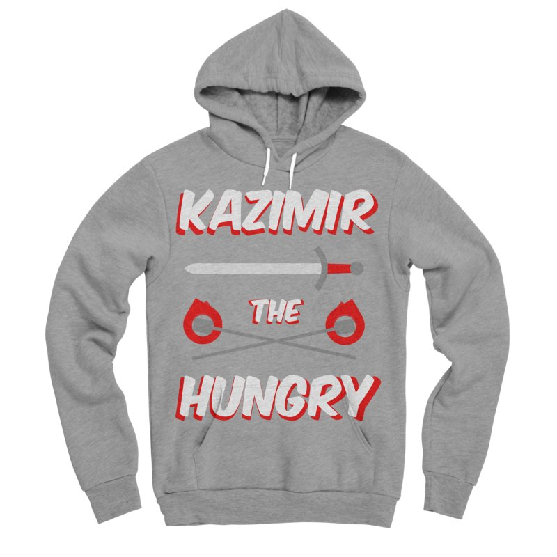 Sword and Torches Women's Sponge Fleece Pullover Hoody by Kazimir the Hungry Merchandise