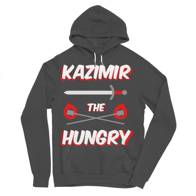 Sword and Torches Men's Sponge Fleece Pullover Hoody by Kazimir the Hungry Merchandise