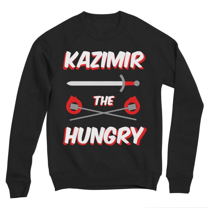 Sword and Torches Men's Sponge Fleece Sweatshirt by Kazimir the Hungry Merchandise