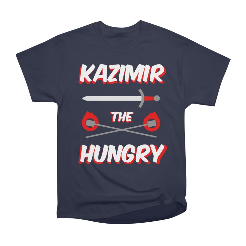 Sword and Torches Women's Heavyweight Unisex T-Shirt by Kazimir the Hungry Merchandise