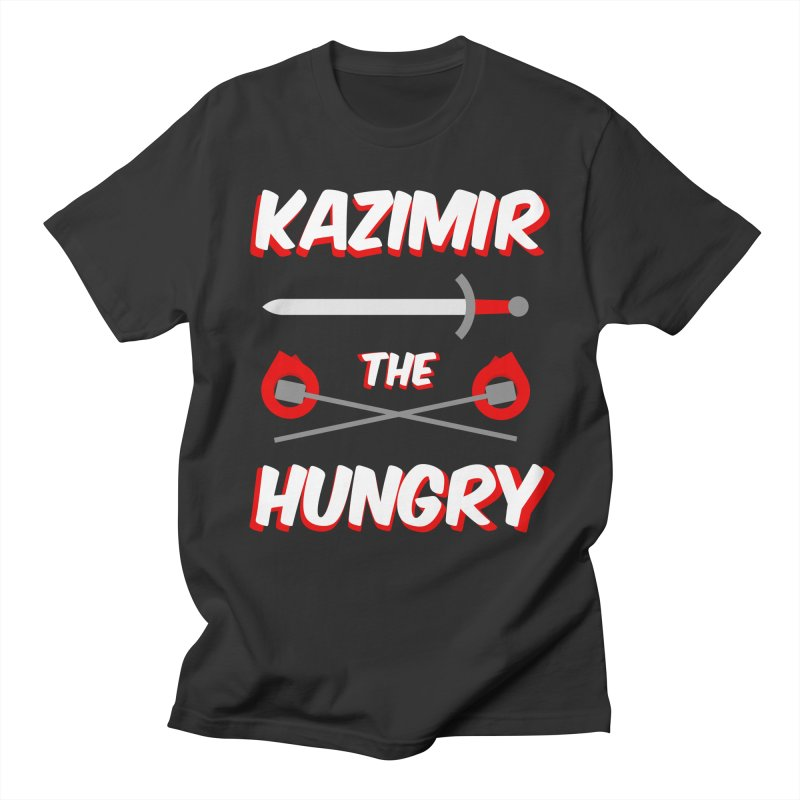 Sword and Torches Women's Regular Unisex T-Shirt by Kazimir the Hungry Merchandise