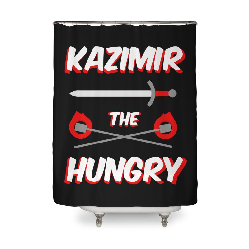 Sword and Torches Home Shower Curtain by Kazimir the Hungry Merchandise