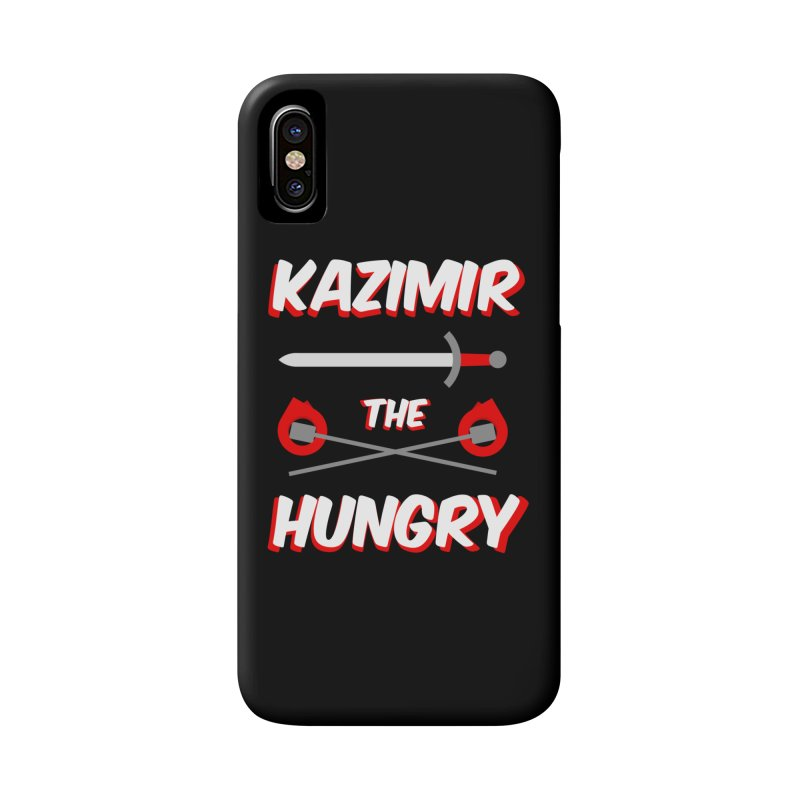 Sword and Torches Accessories Phone Case by Kazimir the Hungry Merchandise