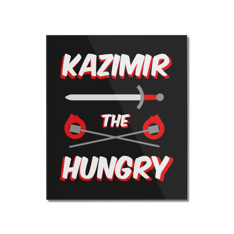 Sword and Torches Home Mounted Acrylic Print by Kazimir the Hungry Merchandise