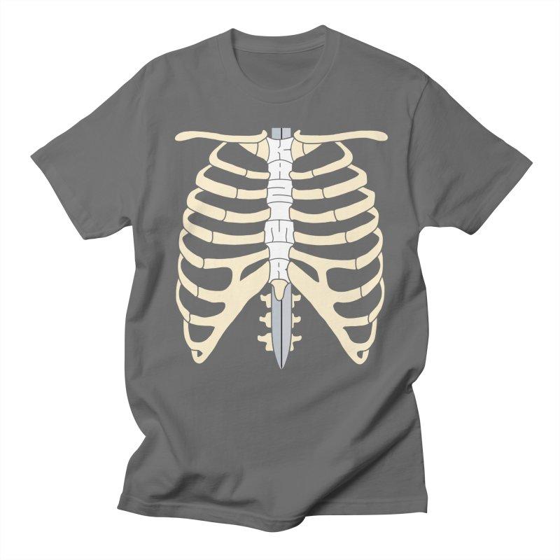 Sword and Ribs Women's Regular Unisex T-Shirt by Kazimir the Hungry Merchandise