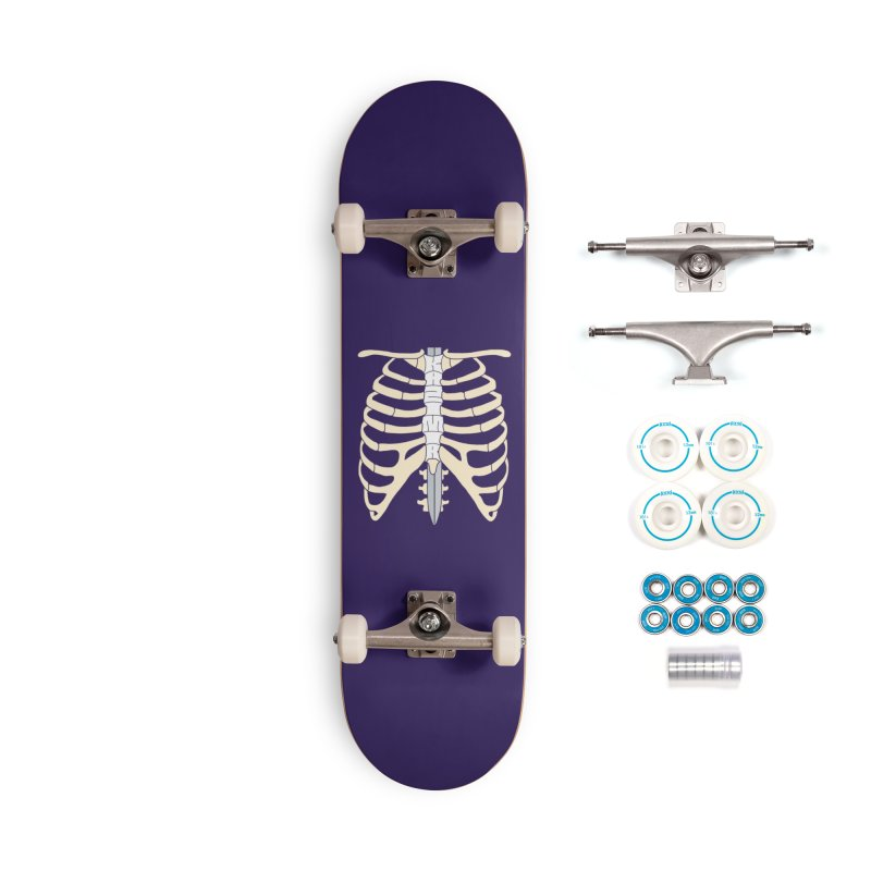 Sword and Ribs Accessories Complete - Basic Skateboard by Kazimir the Hungry Merchandise