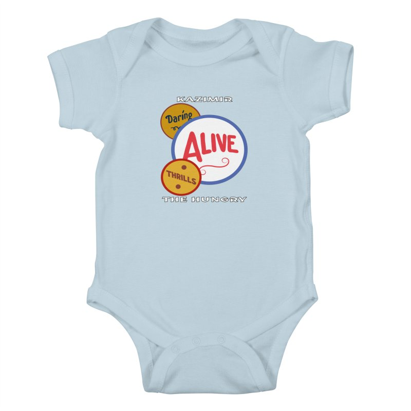 Alive! Kids Baby Bodysuit by Kazimir the Hungry Merchandise