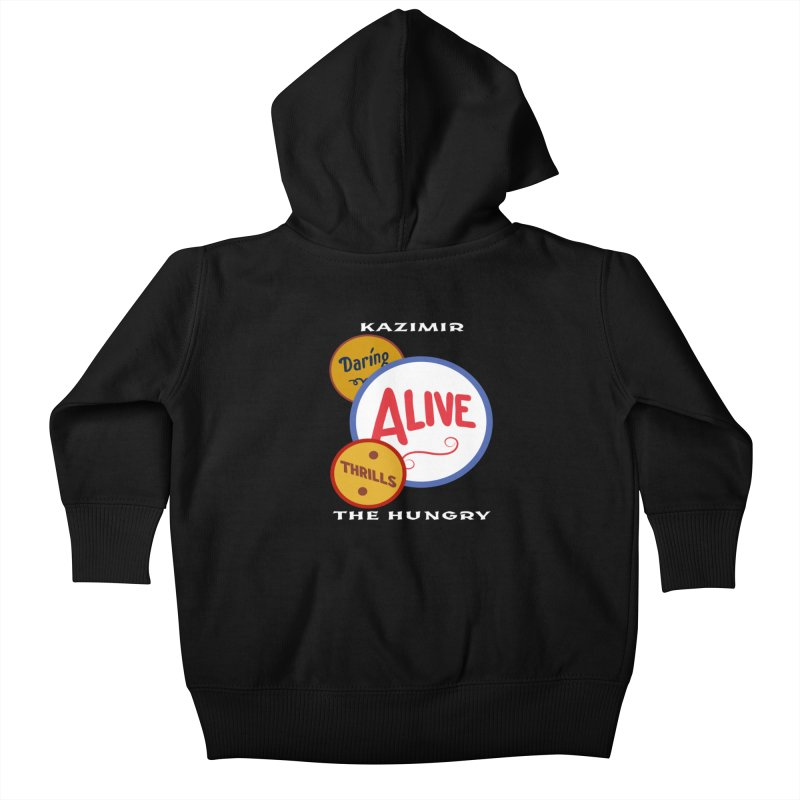 Alive! Kids Baby Zip-Up Hoody by Kazimir the Hungry Merchandise