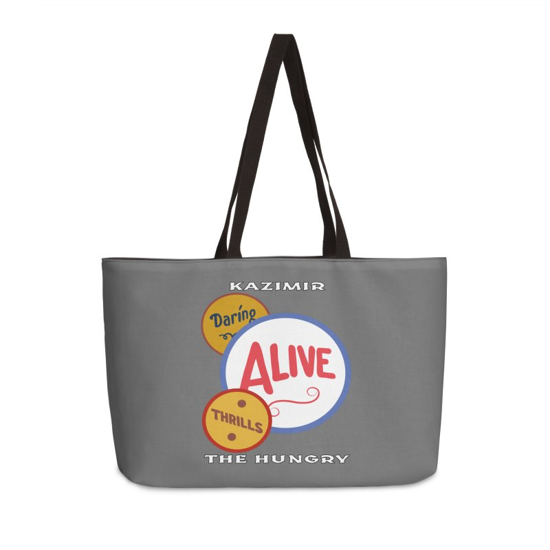 Alive! Accessories Weekender Bag Bag by Kazimir the Hungry Merchandise