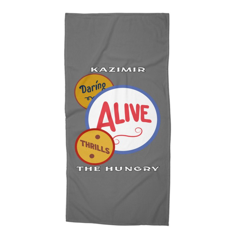 Alive! Accessories Beach Towel by Kazimir the Hungry Merchandise