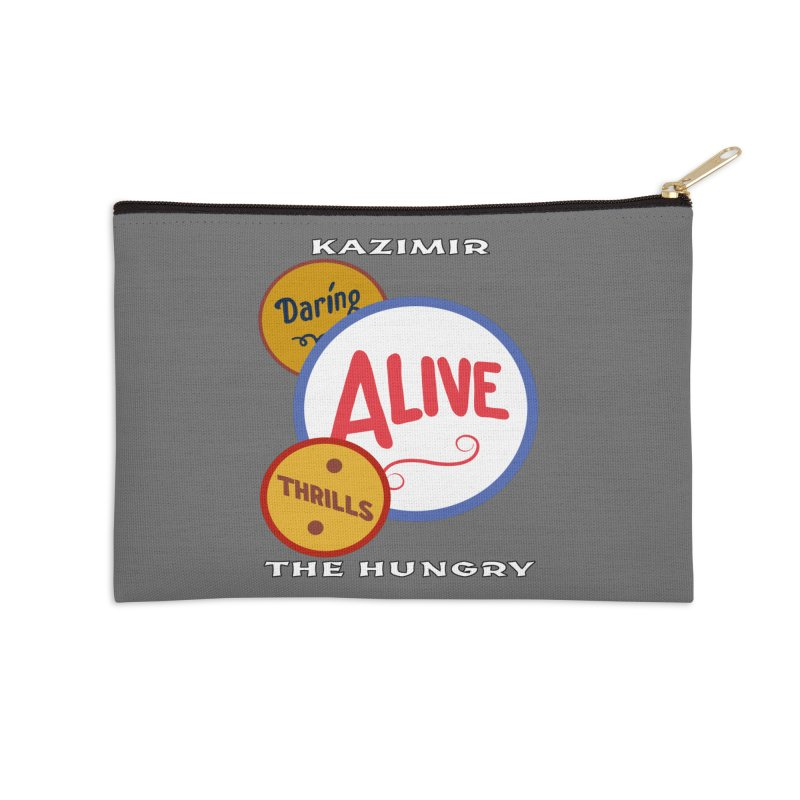 Alive! Accessories Zip Pouch by Kazimir the Hungry Merchandise