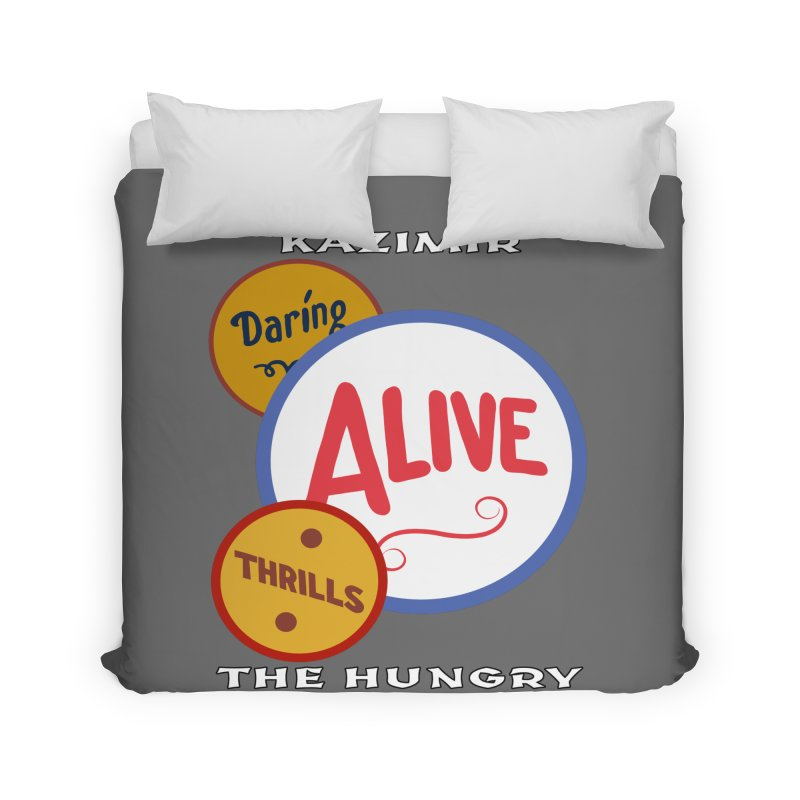 Alive! Home Duvet by Kazimir the Hungry Merchandise