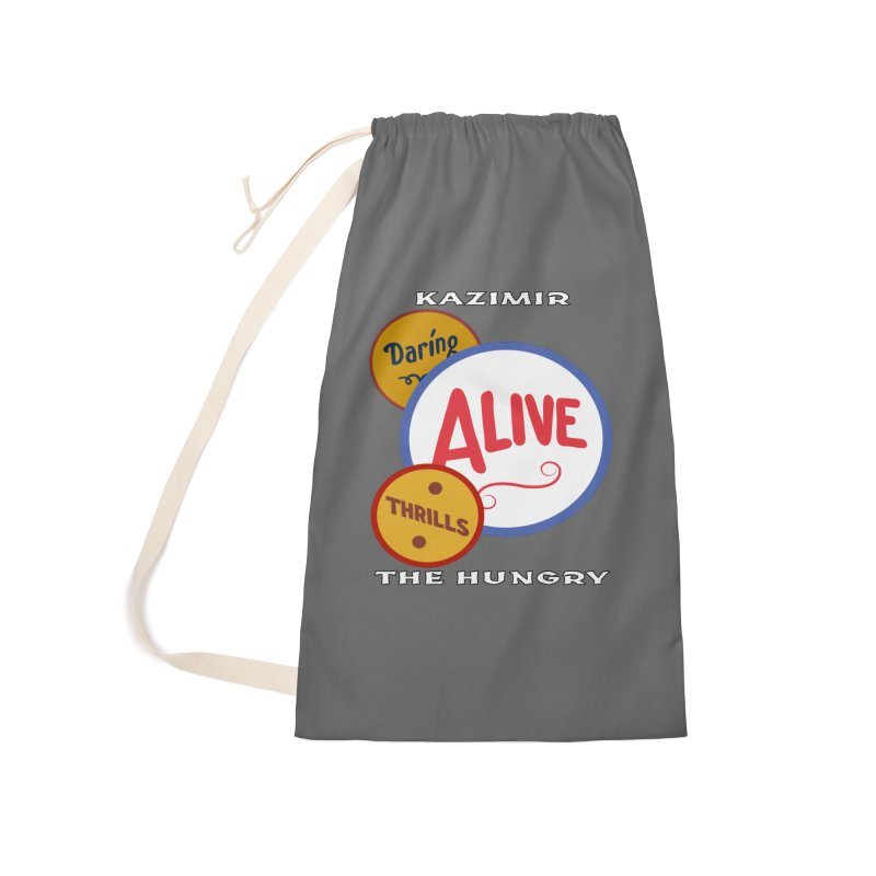 Alive! Accessories Laundry Bag Bag by Kazimir the Hungry Merchandise