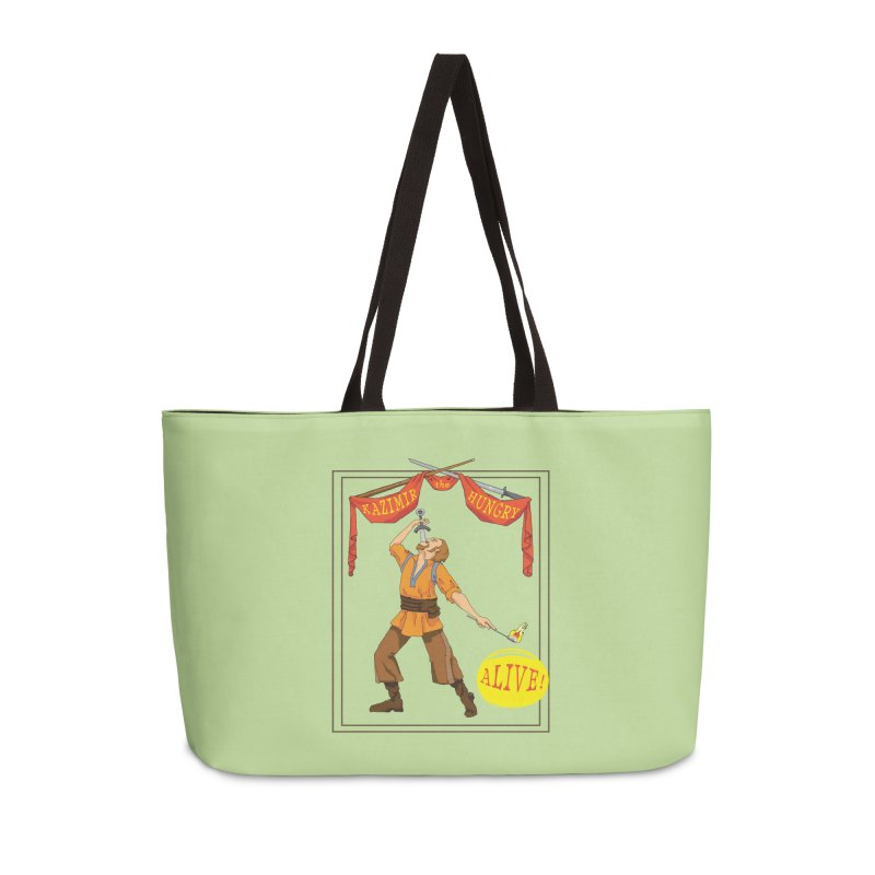 Sideshow Banner Accessories Weekender Bag Bag by Kazimir the Hungry Merchandise