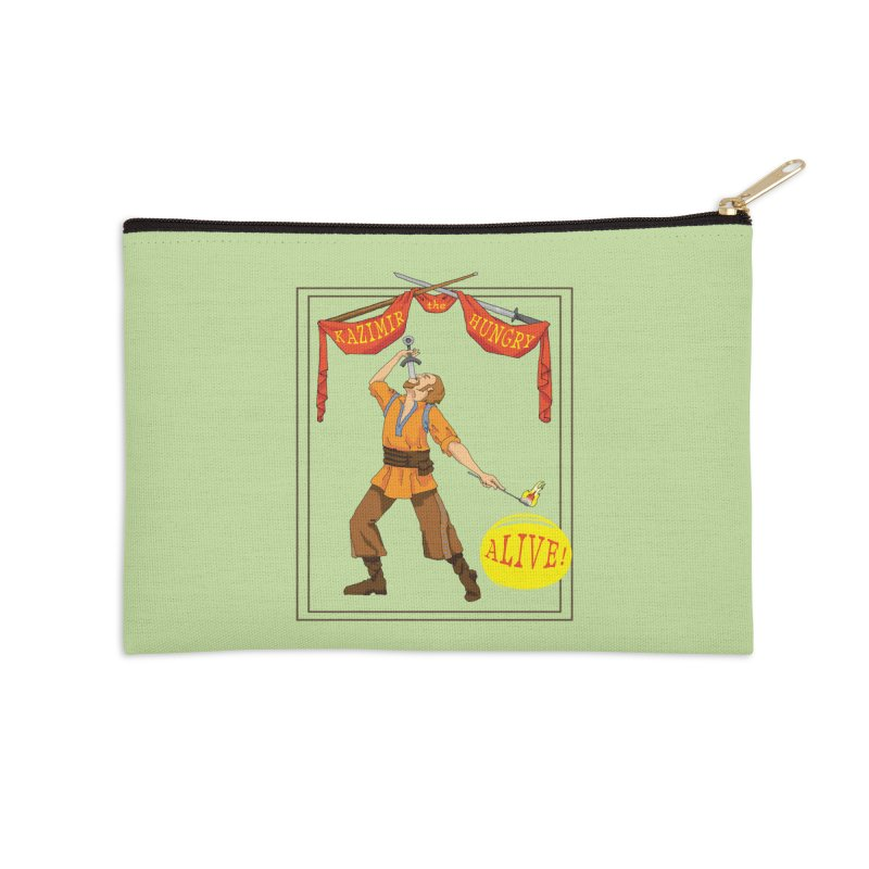 Sideshow Banner Accessories Zip Pouch by Kazimir the Hungry Merchandise