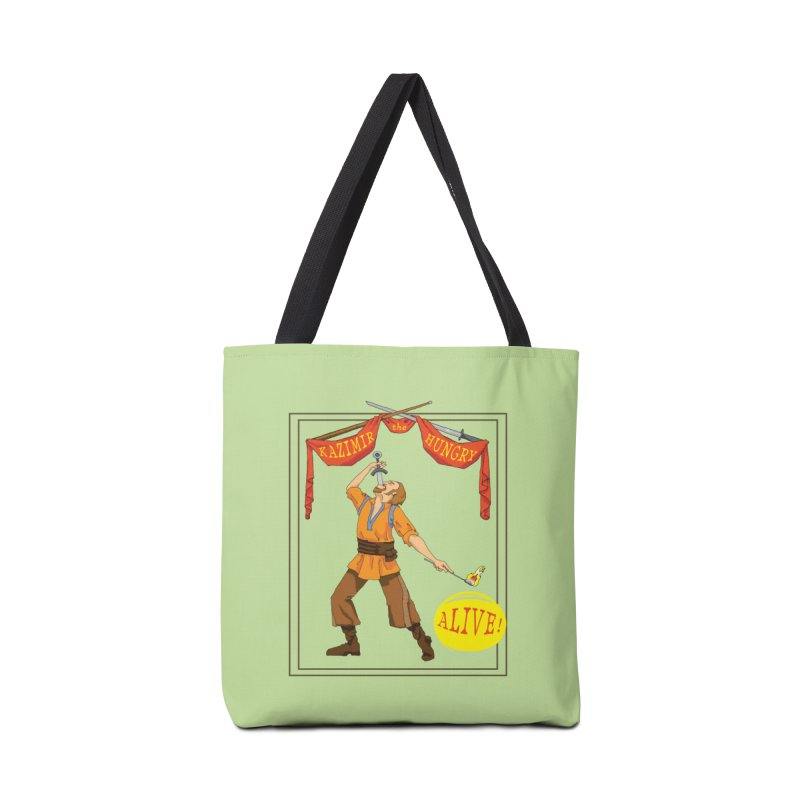 Sideshow Banner Accessories Tote Bag Bag by Kazimir the Hungry Merchandise