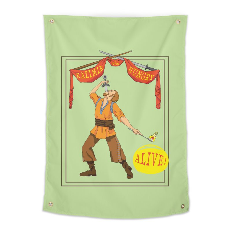 Sideshow Banner in Tapestry by Kazimir the Hungry Merchandise